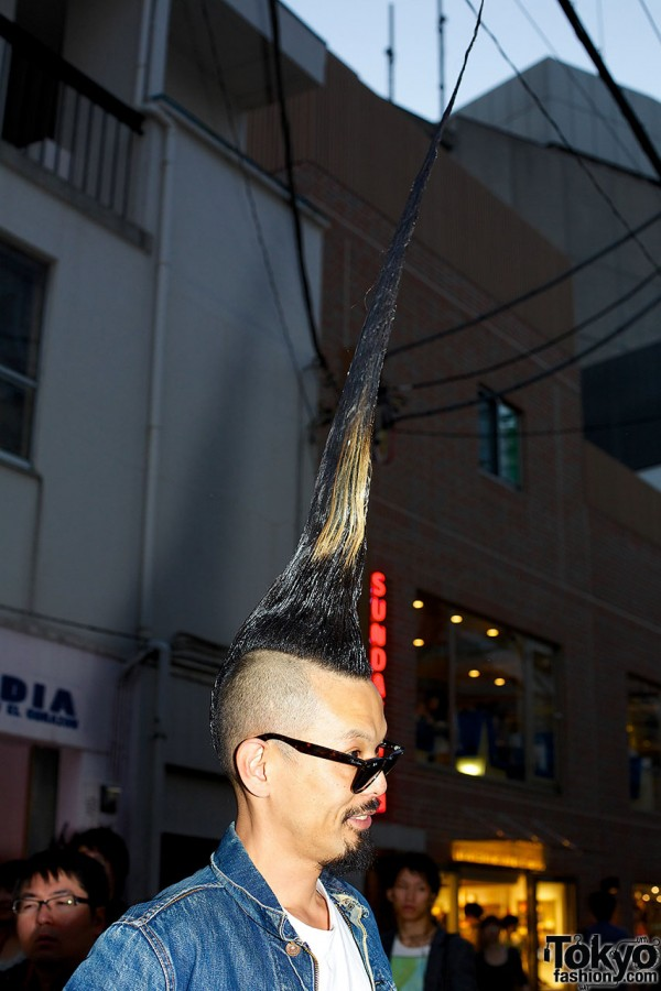 Worlds Tallest Mohawk Hairstyle