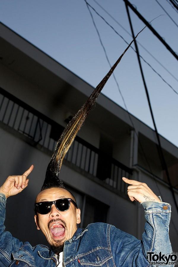 Kazuhiro x Worlds Tallest Mohawk
