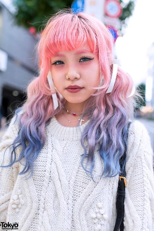 Dip Dye Hair in Tokyo