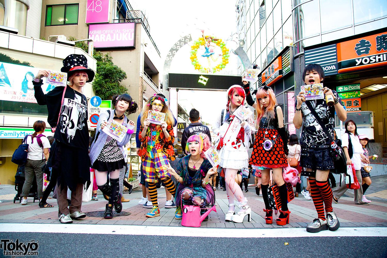 Harajuku Fashion Models
