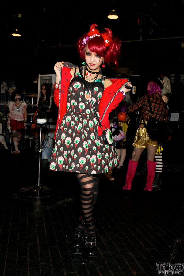Harajuku Halloween Party Fashion Snaps at Pop N Cute #4