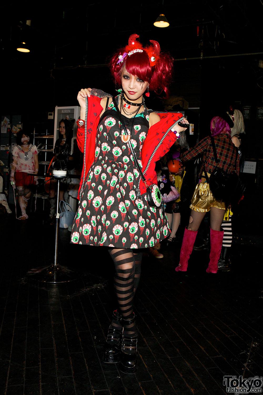 Harajuku Halloween Party Fashion Snaps At Pop N Cute #4