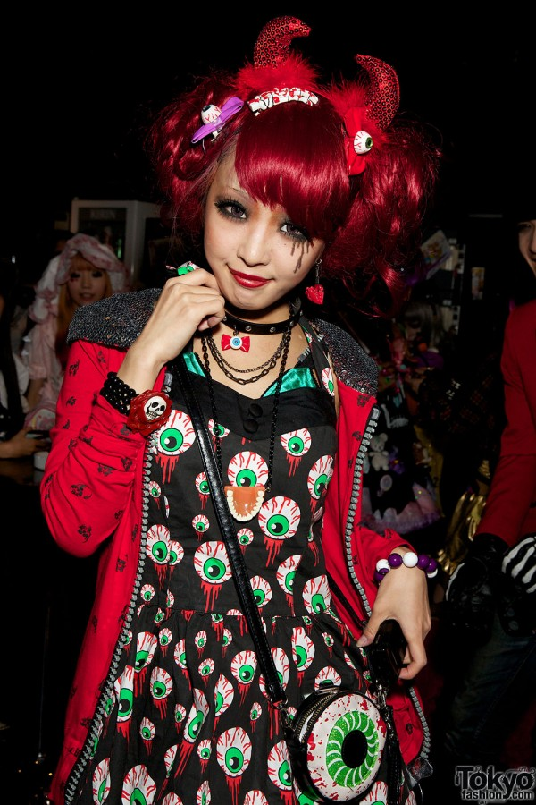 Harajuku Halloween Fashion Snaps (2)