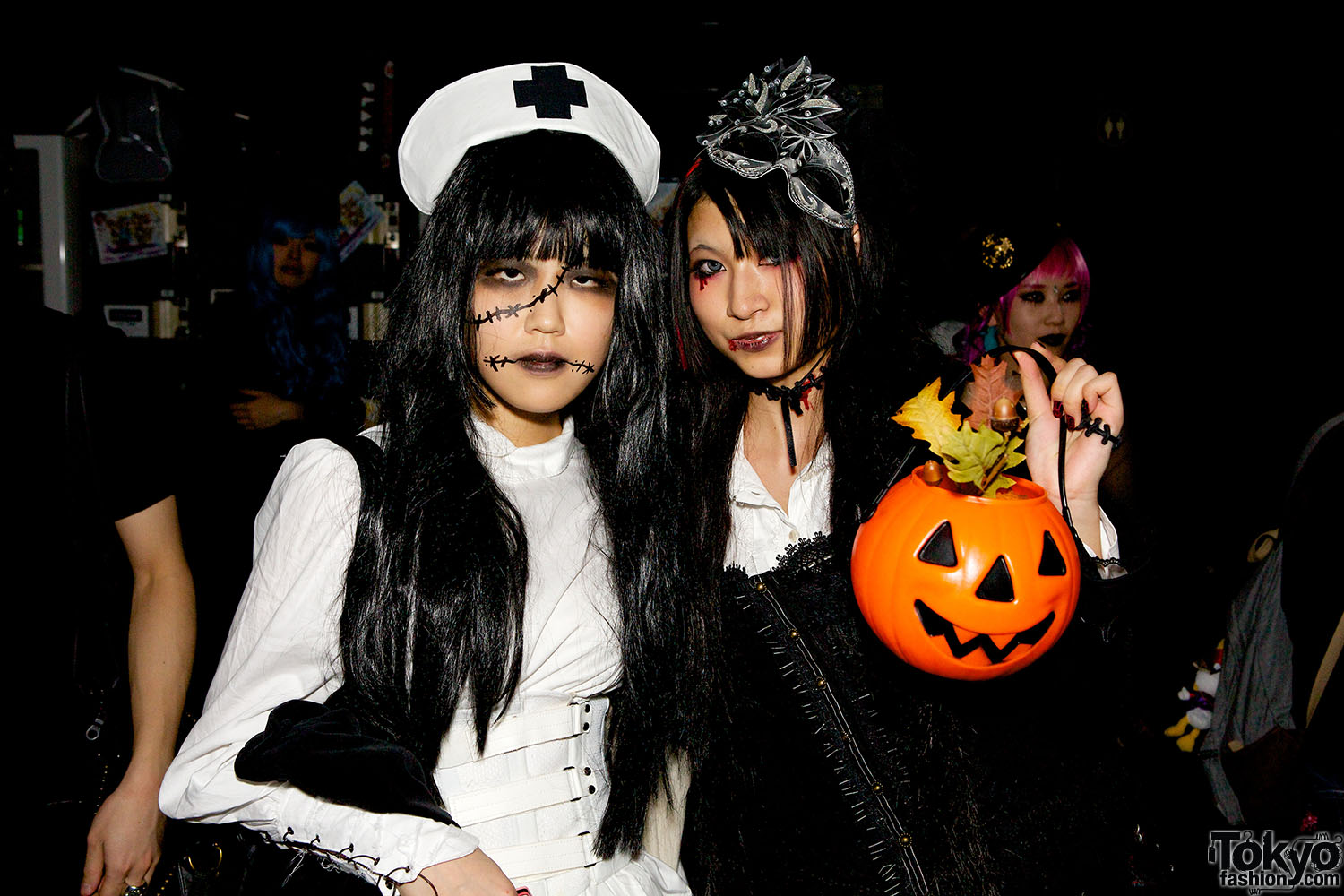 Fashion Picture: Harajuku Halloween Party Fashion Snaps At Pop N Cute #4