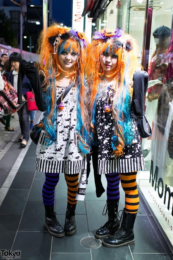 Harajuku Halloween Girls on Takeshita Dori