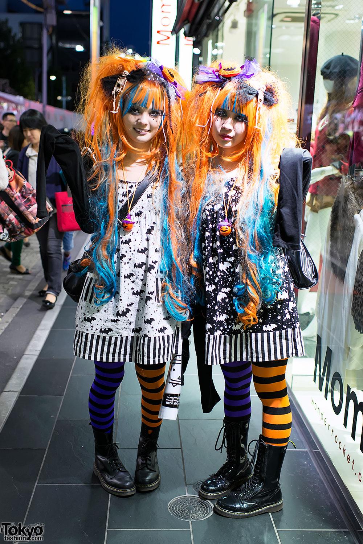 Halloween Costumes in Harajuku