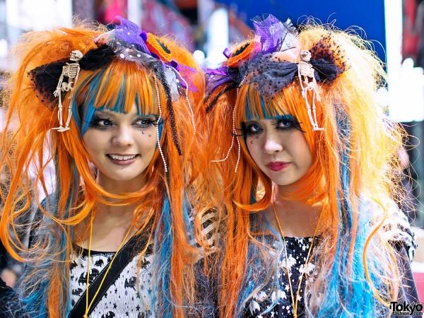 Harajuku Halloween Girls