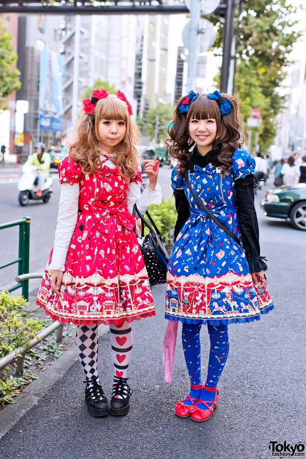 "Angelic Pretty ""Star Night Theater"" in Harajuku"