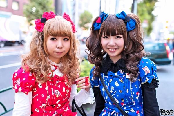 Harajuku Sweet Lolitas in Angelic Pretty