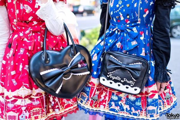 Disney & Angelic Pretty Lolita Handbags