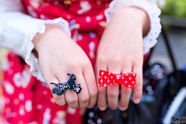 Cute Bow & Angelic Pretty Rings