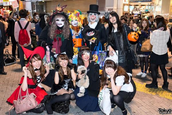 Harajuku & Shibuya Halloween (10)
