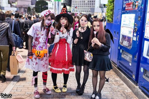 Harajuku & Shibuya Halloween (25)