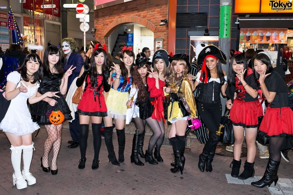 Harajuku & Shibuya Halloween (28)