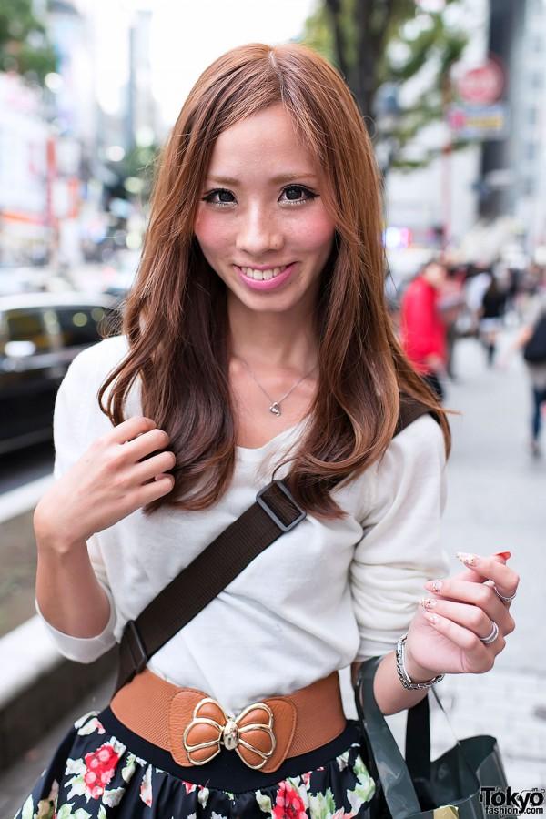 Long Hairstyle in Shibuya