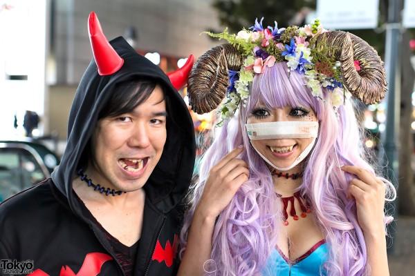 Shibuya Halloween Costumes 2012 (2)