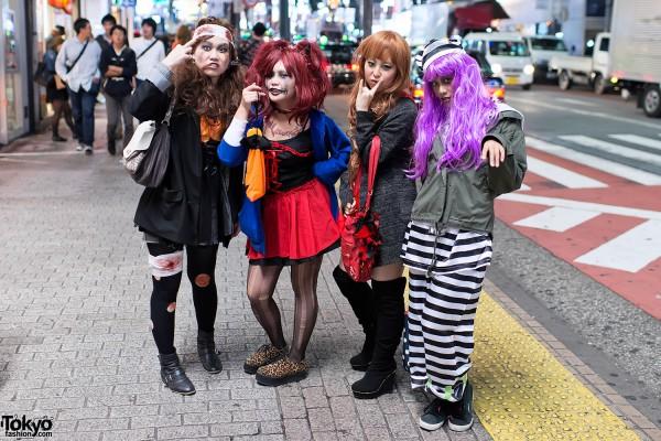 Shibuya Halloween Costumes 2012 (3)