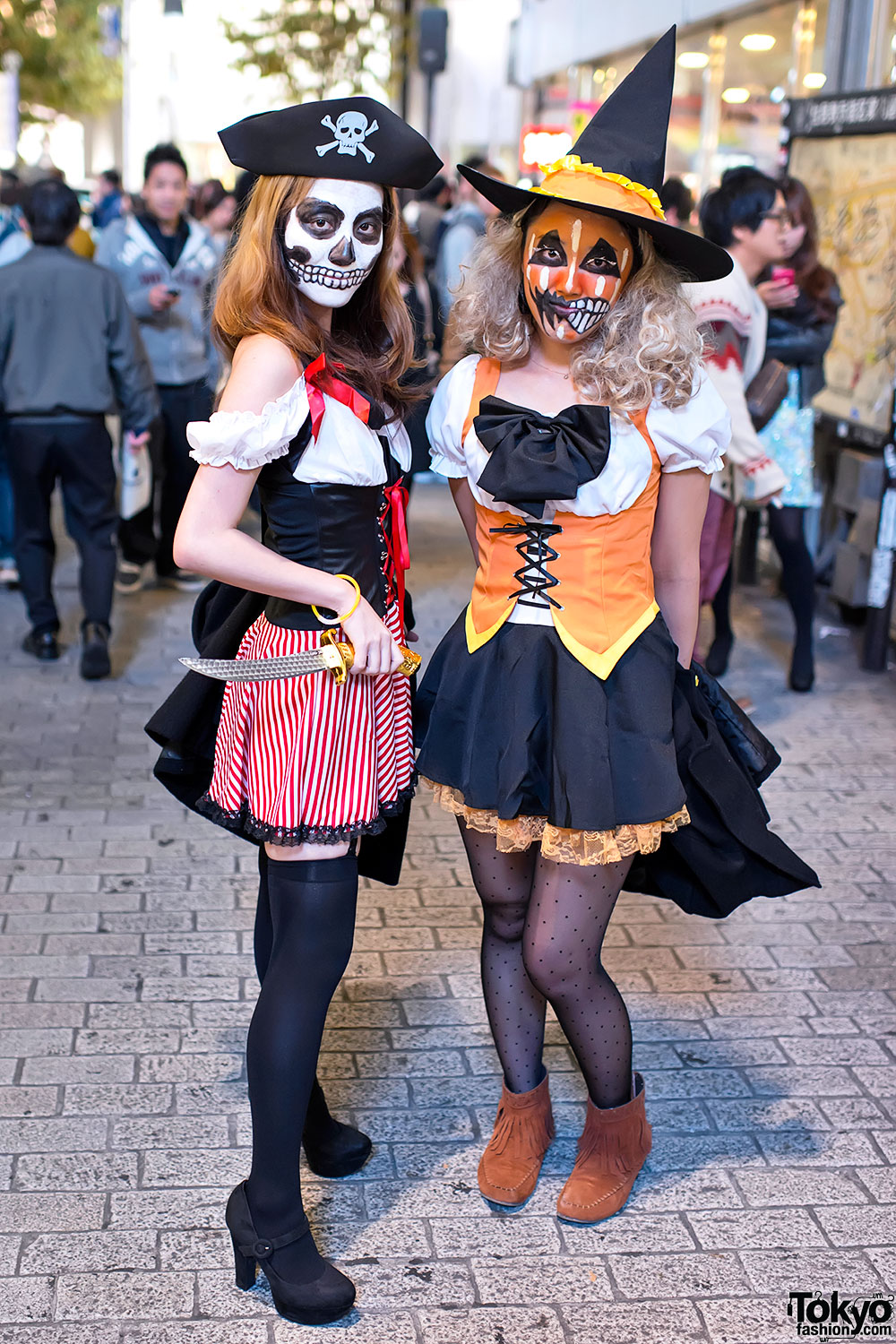 Creative Halloween Makeup Ideas A Subtle Revelry: Shibuya Halloween Costume Street Snaps