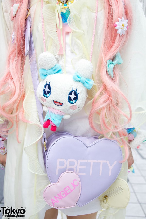 Cute Plush Character & Angelic Pretty Bag