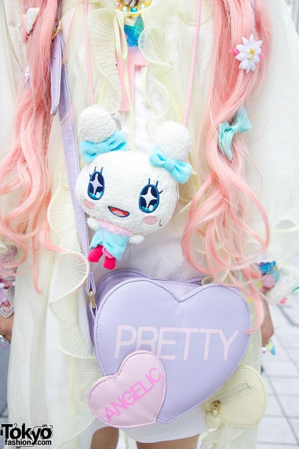 Cute Plush Character & Angelic Pretty Bag
