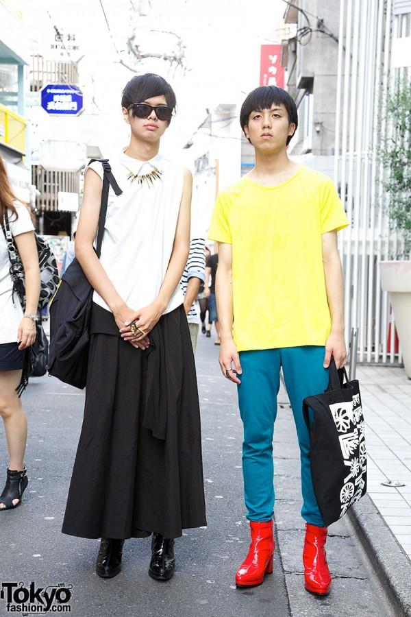 Harajuku Guys w/ Comme des Garcons Bags & Banal Chic Bizarre