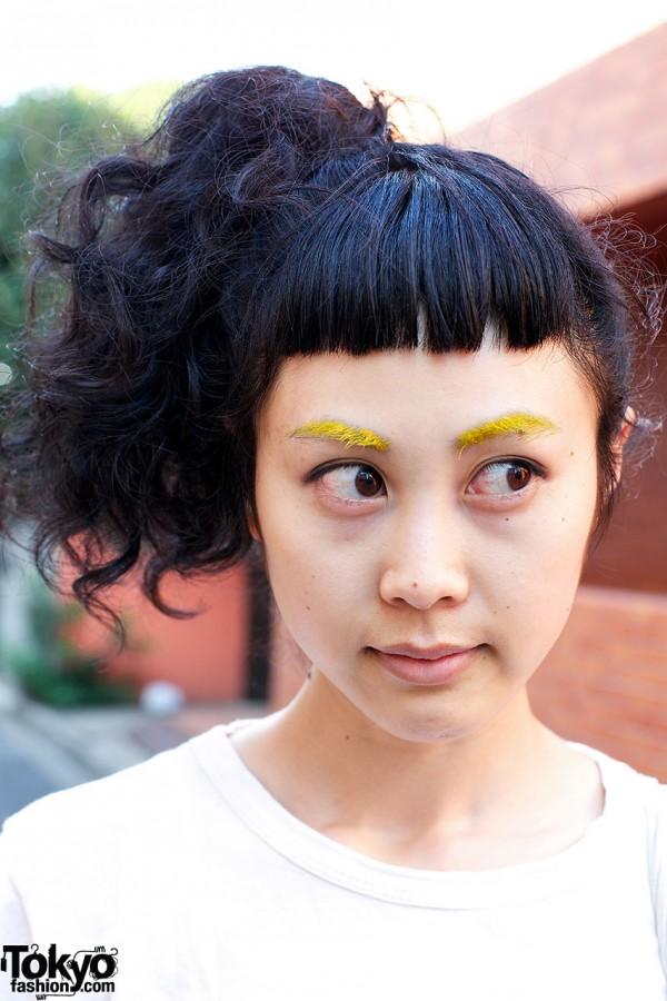 Yellow Eyebrows