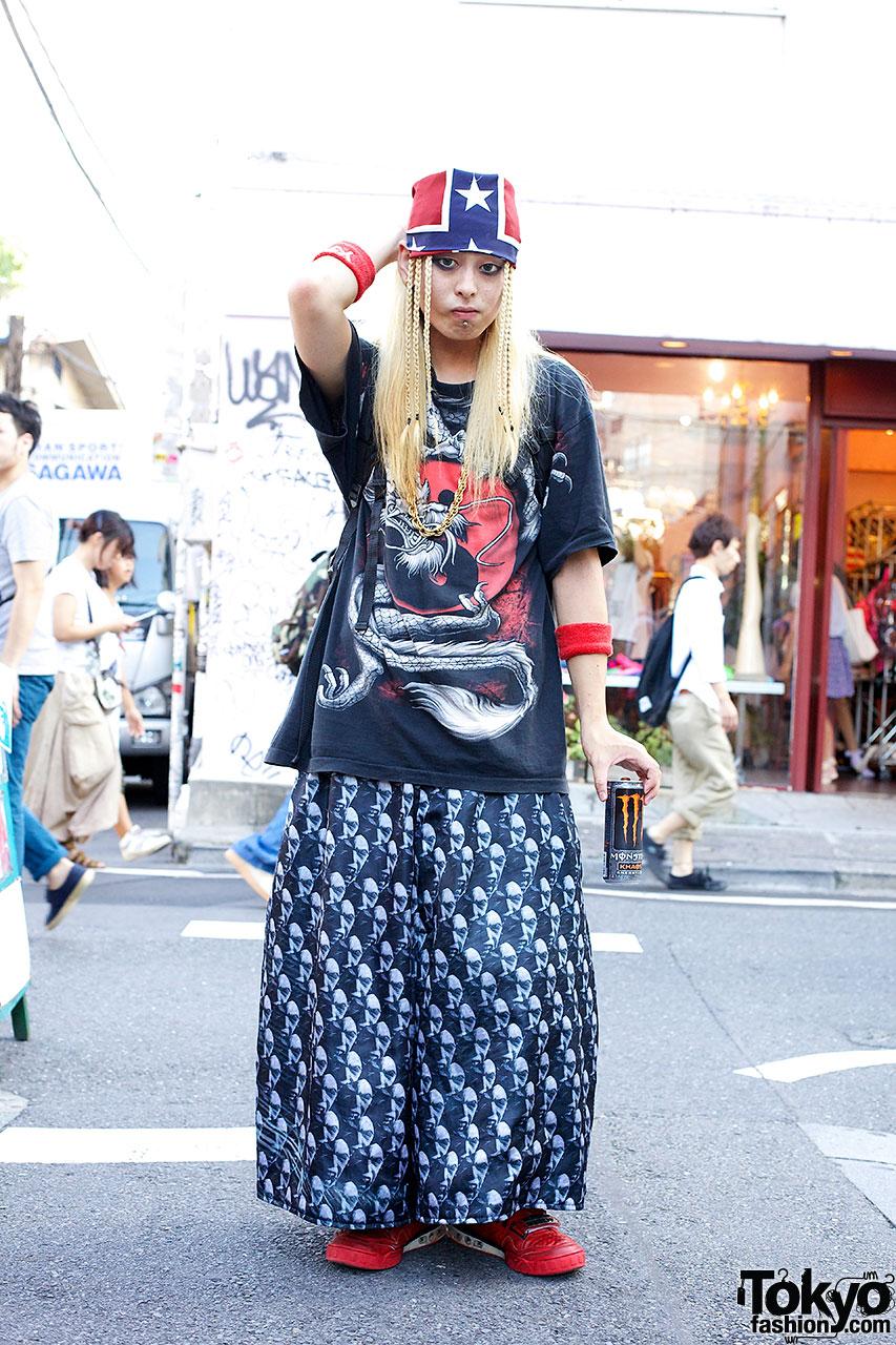 Colorful Handmade Harajuku Fashion