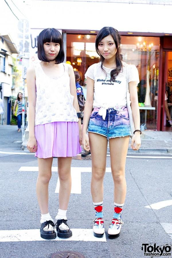 Harajuku Friends in Topshop, Vivienne Westwood & Bonjour Girl