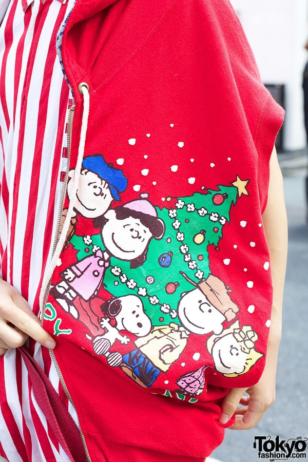Snoopy Hoodie by Ropa Doce Nada