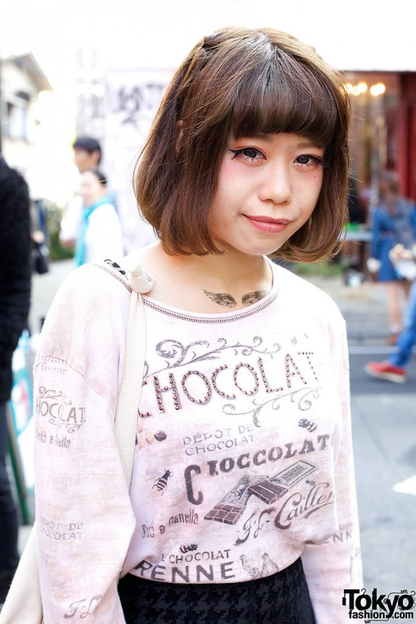 Chocolate jumper