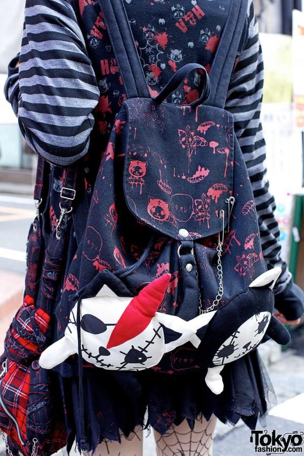 h.NAOTO backpack