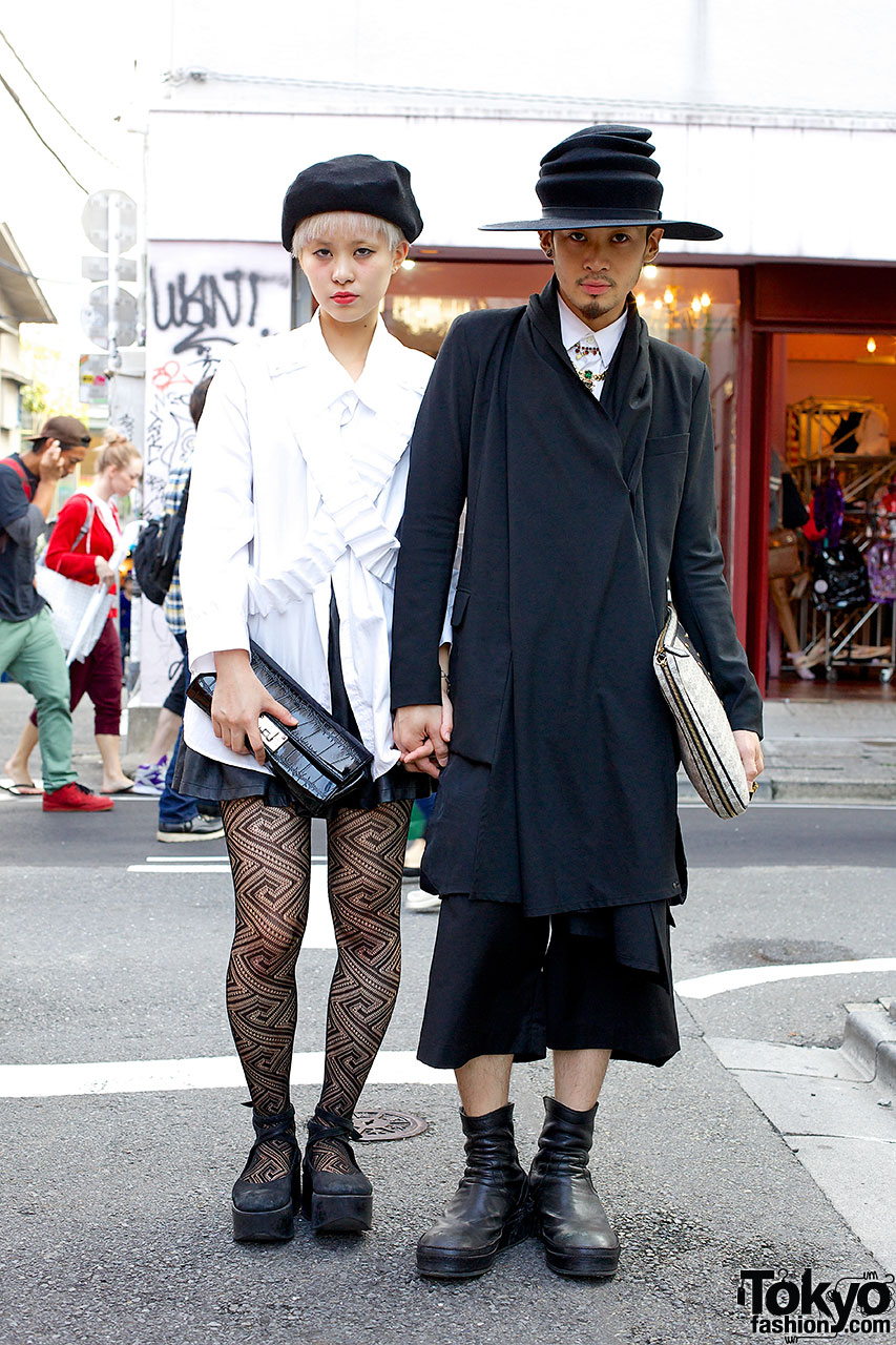 Stylish Harajuku Couple