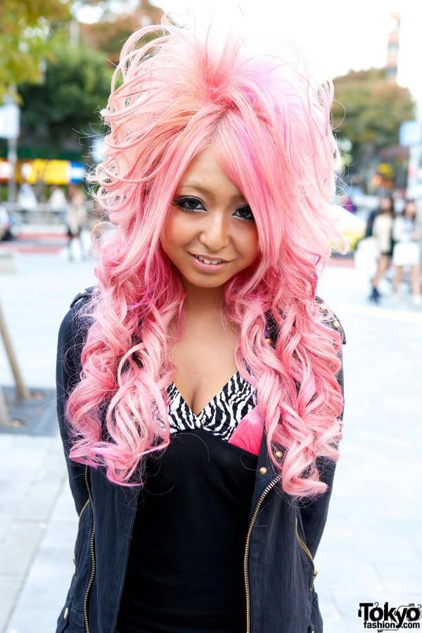 Pink Gyaru Hair