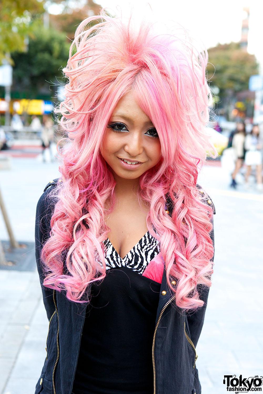 Pink Gyaru Hair – Tokyo Fashion News