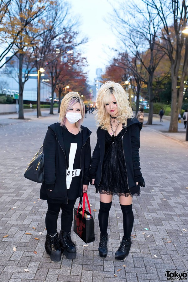 the GazettE Visual Kei Fan Fashion in Tokyo (1)