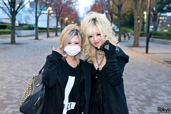 the GazettE Visual Kei Fan Fashion in Tokyo (2)