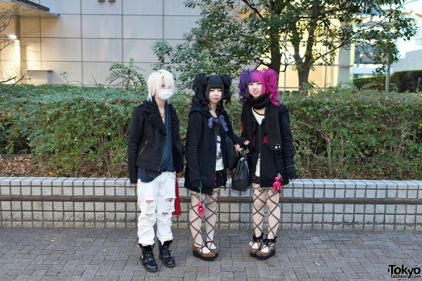 the GazettE Visual Kei Fan Fashion in Tokyo (3)