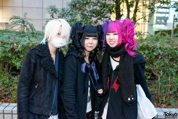 the GazettE Visual Kei Fan Fashion in Tokyo (4)