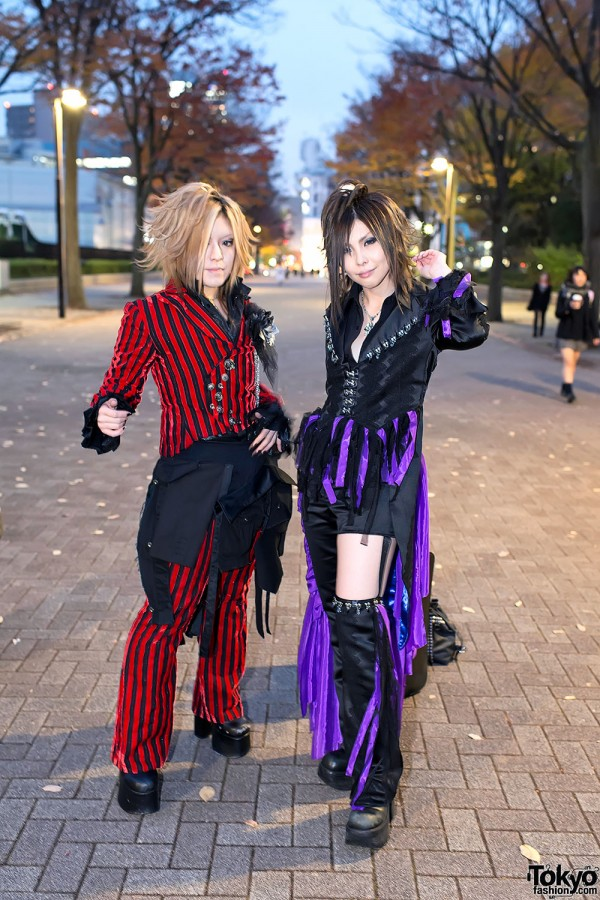 the GazettE Visual Kei Fan Fashion in Tokyo (5)