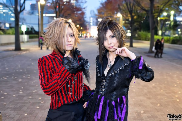 the GazettE Visual Kei Fan Fashion in Tokyo (6)