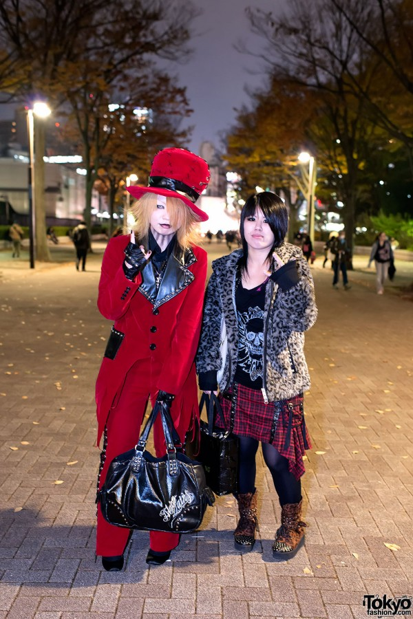 the GazettE Visual Kei Fan Fashion in Tokyo (7)