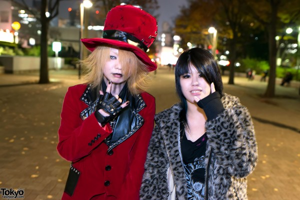 the GazettE Visual Kei Fan Fashion in Tokyo (8)