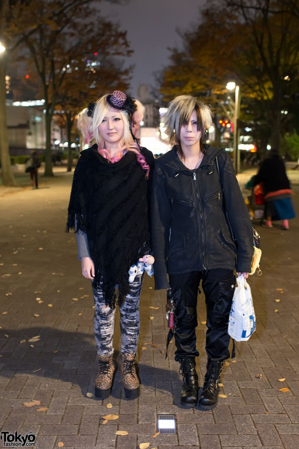 the GazettE Visual Kei Fan Fashion in Tokyo (10)