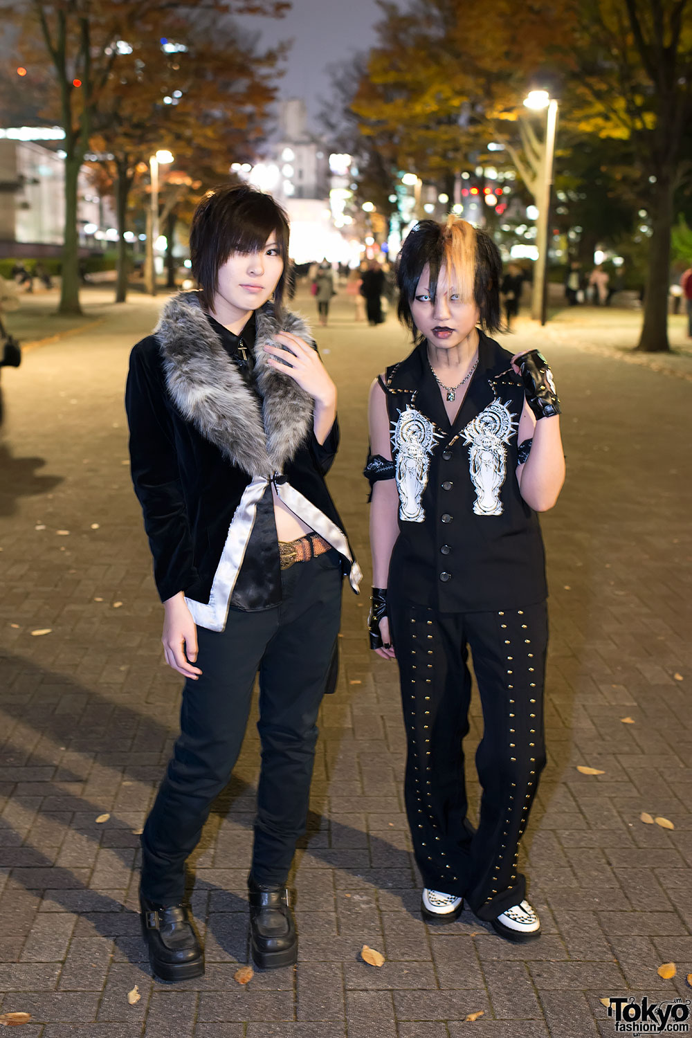 the gazette  u0026quot live tour12 u0026quot  fan fashion snaps in tokyo