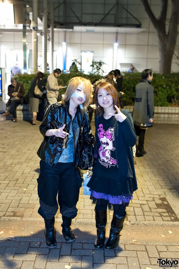 the GazettE Visual Kei Fan Fashion in Tokyo (15)