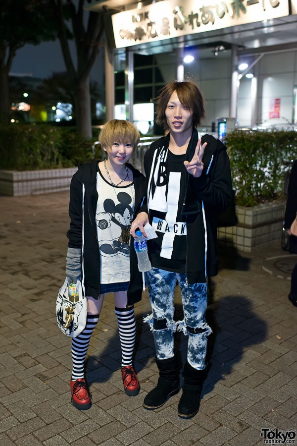 the GazettE Visual Kei Fan Fashion in Tokyo (21)