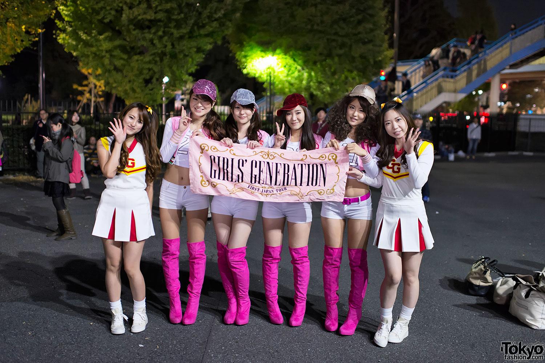 Girls Generation Tokyo Fans (3)