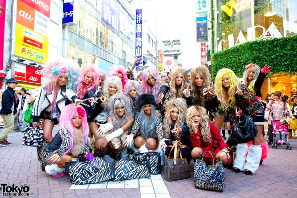 Japanese Kuro Gyaru - Black Diamond (5)