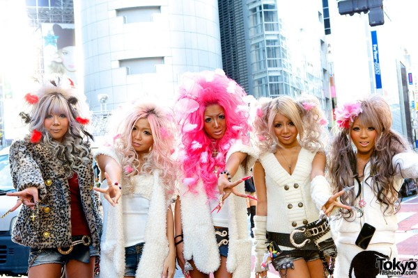 Japanese Kuro Gyaru - Black Diamond (7)