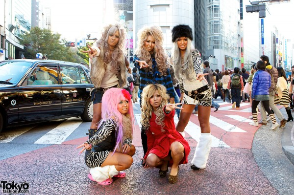 Japanese Kuro Gyaru - Black Diamond (8)